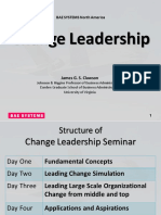 Change Leadership 2013 Slides