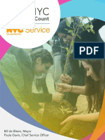 NYC Volunteers Count Annual Report 2017