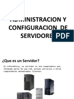 Administracion y Configuracion de Servidores