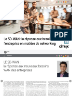 Sd Wan the Answer to Networking Demands Fr