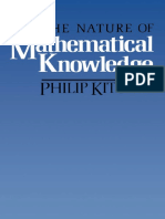 Philip Kitcher The Nature of Mathematical Knowledge.pdf
