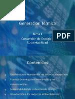 Conversion de Energia y Sustentabilidad