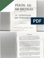 Chervo, Santiago - Perón en San Nicolás