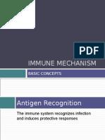 Immune Mechanism 2012
