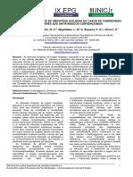 Perfil de Sensibilidade de Amostras Isoladas de Casos de Candidurias (2009)
