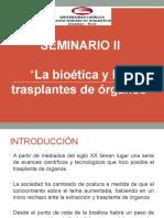 Seminario II Transplante de Organos