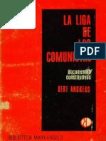 Bert Andreas, La Liga de Los Comunistas - Documentos Constitutivos