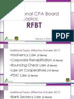 Additional CPA Board Exam Topics[1]