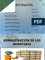 Administración de Los Inventario Final.