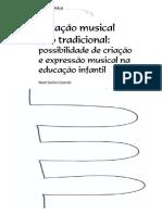 Notação Musical Não Tradicional - Possibilidades de Criação e Expressão Musical Na Educação Infantil