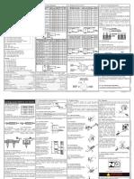 Standard Indutivo CA e CA CC Manual de Instalação