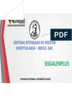 Presentacion Implementacion Sisgalen Plus - Hdac