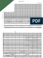 Bright Size Life - Big Band Score