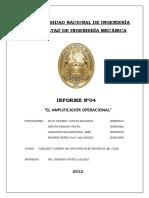 Informe 4 Avance