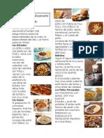 spanish restaurant project
