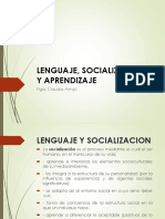2. Lenguaje, Socializacion y Aprendizaje