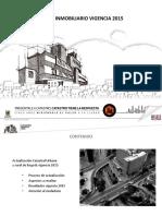Presentación Censo INMOBILIARIO 2015