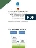 Aiuti all'occupazione presentazione definitiva-1