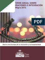 Melero Valdés, Luisa, Informe Anual CeiMigra 2014