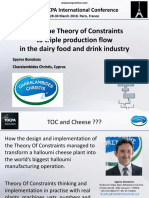 11. 38 TOCPA Paris March 2018 - Charalambides - Triple Sales & Production in the Dairy Food and Drink Industry