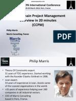 3. 38 TOCPA Paris March 2018 - Philip Marris - CCPM in 20 Min