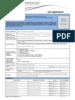 SAIS Job Application Form - December 2017