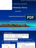 Basic Plasticity Mechanics