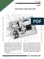 Original EB63 Engineering Bulletin