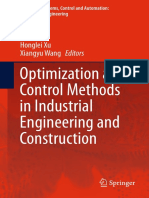 (Intelligent Systems, Control and Automation_ Science and Engineering 72) B. S. Goh, W. J. Leong, K. L. Teo (Auth.), Honglei Xu, Xiangyu Wang (Eds.)-Optimization and Control Methods in Industrial Engi