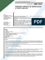 NBR 14039 - 2003 - Instalações Elétricas de Média Tensão