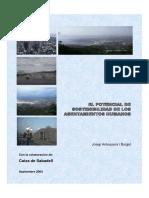 El Potencial de Sostenibilidad de Los Asentamientos Humanos