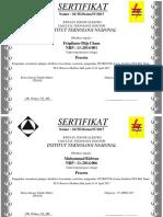 SERTIFIKAT Kulap Kuy PDF
