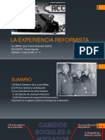 Experiencia Reformista