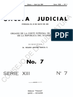 Gaceta judicial Serie 13 N007-1980