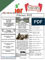 2. February 2018 Kids' Corner