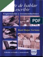 ROJAS SORIANO El arte de hablar y escribir.pdf