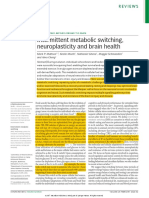 alteração metabólica - neuroplasticidade e saúde cerebral