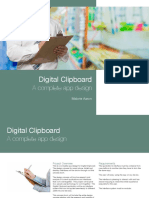 Digital Clipboard Design Specification