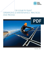 BUDGETING FOR SOLAR PV PLANT OyM-  Practices and Pricing - Diciembre 2015.pdf