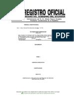 Codificación y Recopilación de Régimen de Derecho Internacional Privado Tomo I