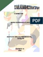 Elementos de Administracion