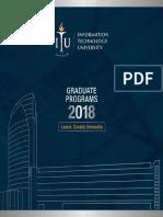 ITU Graduate Programs