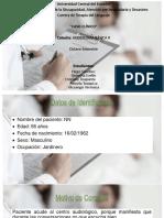 Caso Clinico Audiologia
