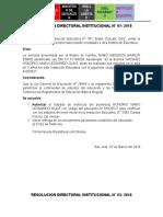 Resolucion Directoralde Traslado