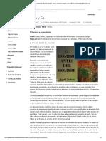 El Hombre y Su Evolución. Daniel Turbón. Grupo Ciencia, Razón y Fe (CRYF). Universidad de Navarra