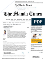 Rent Control Law Does Not Cover Commercial Space - The Manila Times Online