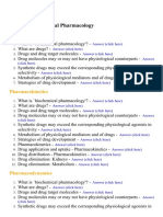 Biochemical Pharmacology - Lecture Notes, Study Material and Important Questions, Answers