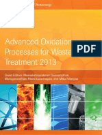 Advanced Oxidation Processes for Waste Water Treatment