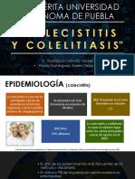 Colecistitits y  Coledocolitiasis