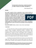 A IMPORTÂNCIA DE UMA DIDÁTICA PROJETADA^J CONTEXTUALIZADA E PRATICADA
